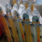 Mua bán thang nhôm rút chữ A hiệu Poongsan Hàn Quốc