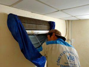 Lắp đặt, vệ sinh máy lạnh Thuận An - Bình Dương 2